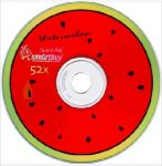 Smartbuy CD-R 80MIN 52X FRESH-WATERMELON CB-10
