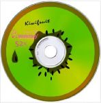 Smartbuy CD-R 80MIN 52X FRESH-KIWIFRUIT CB-10