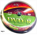 VS DVD+R 4.7GB Cake (10)